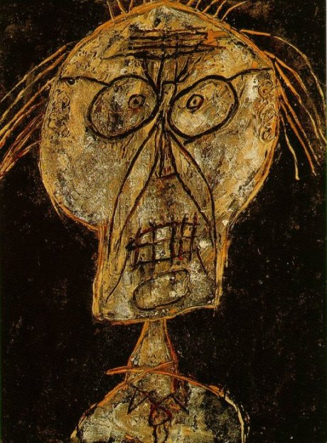 Jean Dubuffet, Grand Maitre of the Outsider, Raw, Brut Art, gave the direction to Candice Johnson for Portraits.