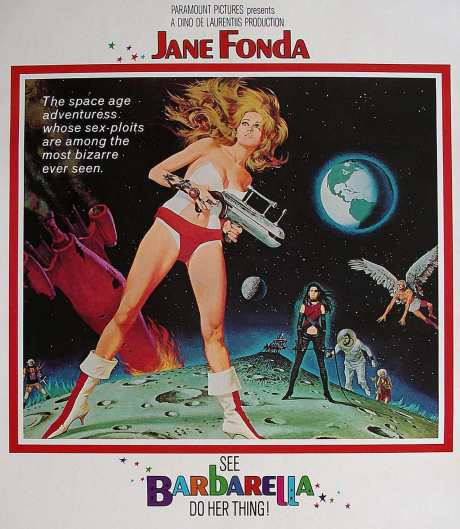 BARBARELLA By Roger Vadim.