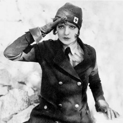 CLARA BOW Message To HOLLYWOOD: Ready, Steady, Go!! My UNIFORM Is My WARDROBE!!