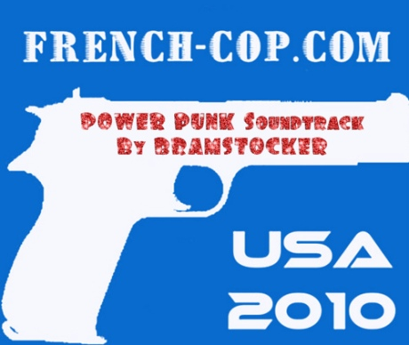 BRAMSTOCKER Weapon LOGO: Power Punk Soundtrack FRENCH COP MOVIE! (2010)