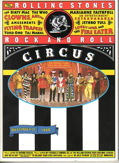 ROCK N' ROLL CIRCUS: a SOUVENIR That is Not A Memory But An Iconic Message.