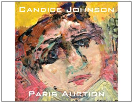 Candice Johnson Auction In Paris at DROUOT-RICHELIEU May 16 will be the Beginning of the European face To Face Tour!!