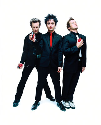 Green Day, a Band with a Rock'n Roll Heart and a Guitar that Belongs to Us, with The Velvet Eyes Dedication!