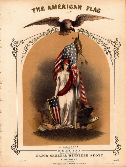American Flag: From The Beginning, it showed the way to Our Armies for developing our Independency by making us respected Worldwide!