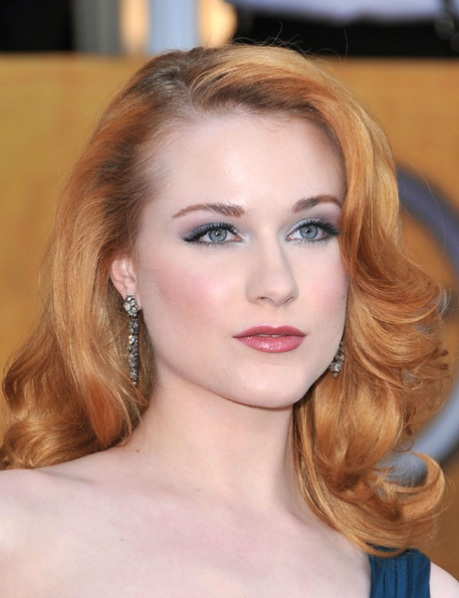 Evan Rachel Wood, With Or Without Marylin Manson, Is The Next Greta Garbo In The Hollywood Cabaret.