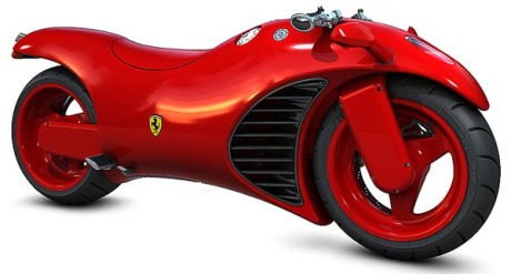 Ferrari V4 Motorcycle 149, The Motorcycle Of The Sci Fi kind of Life we will live in the 2010's and a Famous Star of The Road that Fred Vidal Would like to have for His Project First Daughter 2 with Katie Holmes (a Film that The Hollywood Community hopes to see on the Theaters Screens in the next 2 Years). Ferrari will be contacted by Fred's Organization Team.