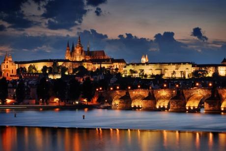 Prague Castle, also known as, Hradcany Castle; Prague, Czech Republic.