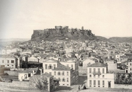 Athens Was An Old Project Of Ours. We had This Mood Connected With The Ancient Greeks And The Tradition Of Antiquity. And When We Visited The Old City, We Had Also A Professional Reason To Be There. On The Picture, Athens In 1861.