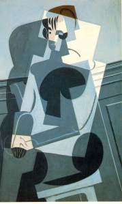 Juan Gris - Portrait Of Josette (1916). Vallentine was a kind of woman I did not meet before, part of an angel, part of a reality dream that I would had paint if I was a painter.
