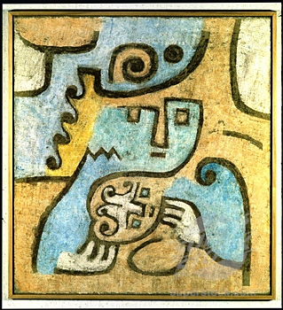 Paul Klee - Mother And Child (1938). In Moscow, Jonathan And Vaalentine Arrived With Their First Child In Order To Meditate Together About The Regime And The Mistake Of Communism.