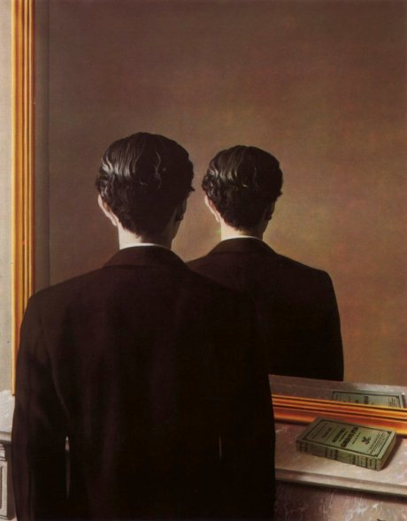 René Magritte's Not to Be Reproduced (La Reproduction Interdit), (1937). In France, The Germans Made The Nation Under Their Control With No Place For Freedom And Friendship But Velvet Eyes Succeeded To Rescue A Friend Of His Family's Wife.