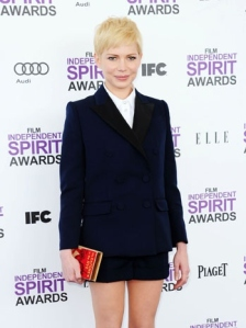 Michelle Williams, she is my William Shakespeare lady, a Punk reality of a Celebrity who deserved the Academy Award for Best Actress but there was a different choice that must be investigated.