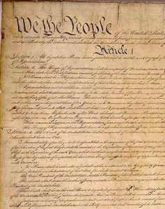 Constitution of the United States adopted on September 17, 1787: A Letter.