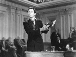 Mr. Smith Goes To Washington (Jean Arthur and James Stewart) directed and produced by Frank Capra is the best achievement of this idea that nobody is unacceptable. We don't need a messiah in America.