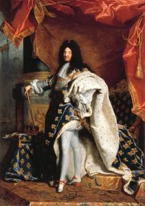 Portrait of Louis XIV by Hyacinthe Rigaud (1659–1743), 1701, oil on canvas, Musée d'Agesci.
