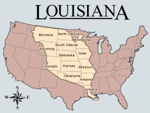 Louisiana was French, belonging to France, with a culture that gave to the United States its exotism so much appreciated in the foreign countries and all over the territory of the future 50 States. So let's be binational with the Mike Fuller program. Spanish americans will enjoy the French touch of our English style.