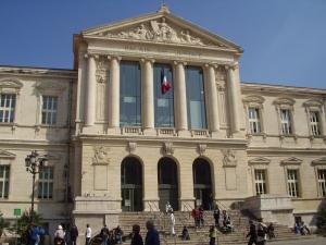 Le Palais de Justice de Nice, ville natale de Frédéric Vidal et son domicile permanent à l'heure actuelle.
