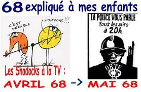 Shadoks, they were the famous cartoon in France before and after the may 68 movement of revolt of the students.