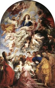 Assumption of the Virgin (1626) by Peter Paul Rubens (1577–1640).