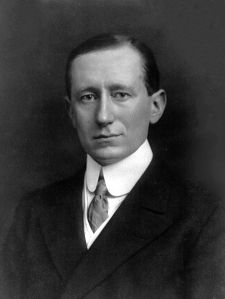 Guglielmi Marconi is the founder of Television, obviously. Congratulations, Italians.