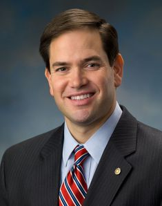 My roommate for American Dreams. Official portrait of US Senator Marco Rubio of Florida. 28 January 2011. Source: Email from the Office of Senator Marco Rubio. Author: US Senate.
