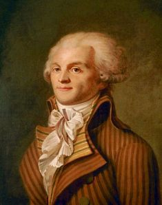 Portrait de Maximilien de Robespierre (1758-1794), Anonyme, Musée Carnavalet (vers 1790).