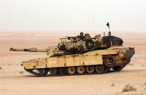 M1A1 Abrams of the US Marines. My favorite car. Not for the Desert only.