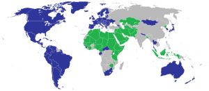 Map of nations supporting the resolution at the United Nations on Sexual Orientation and Gender Indentity vs. those opposing. Author: Knowz. 28 June 2012.