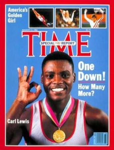 Carl Lewis, still well for 2012 in England.