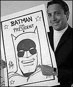 Batman for President. Batman for Mike Fuller.