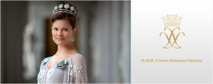 H.R.H. Crown Princess Victoria. Victoria Ingrid Alice Désirée, Crown Princess of Sweden, Duchess of Västergötland.
