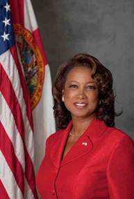 The Lieutenant-Governor of Florida, Jennifer Carroll is my dreamt Chief of Staff with a first touch in Tampa at the end of the month.