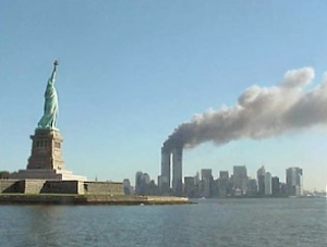 Lower Manhattan, September 11, 2001. National Park Service.