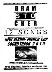 POSTER BRAMSTOCKER 12 SONGS