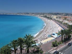 Nice, Côte de'Azur : la ville de Frédéric Vidal, siège de ses activités artistiques et professionnelles.