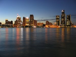 The government of Detroit (pictured), with up to $20 billion in debt, files for the largest municipal bankruptcy in U.S. history. Picture by Shawn Wilson.