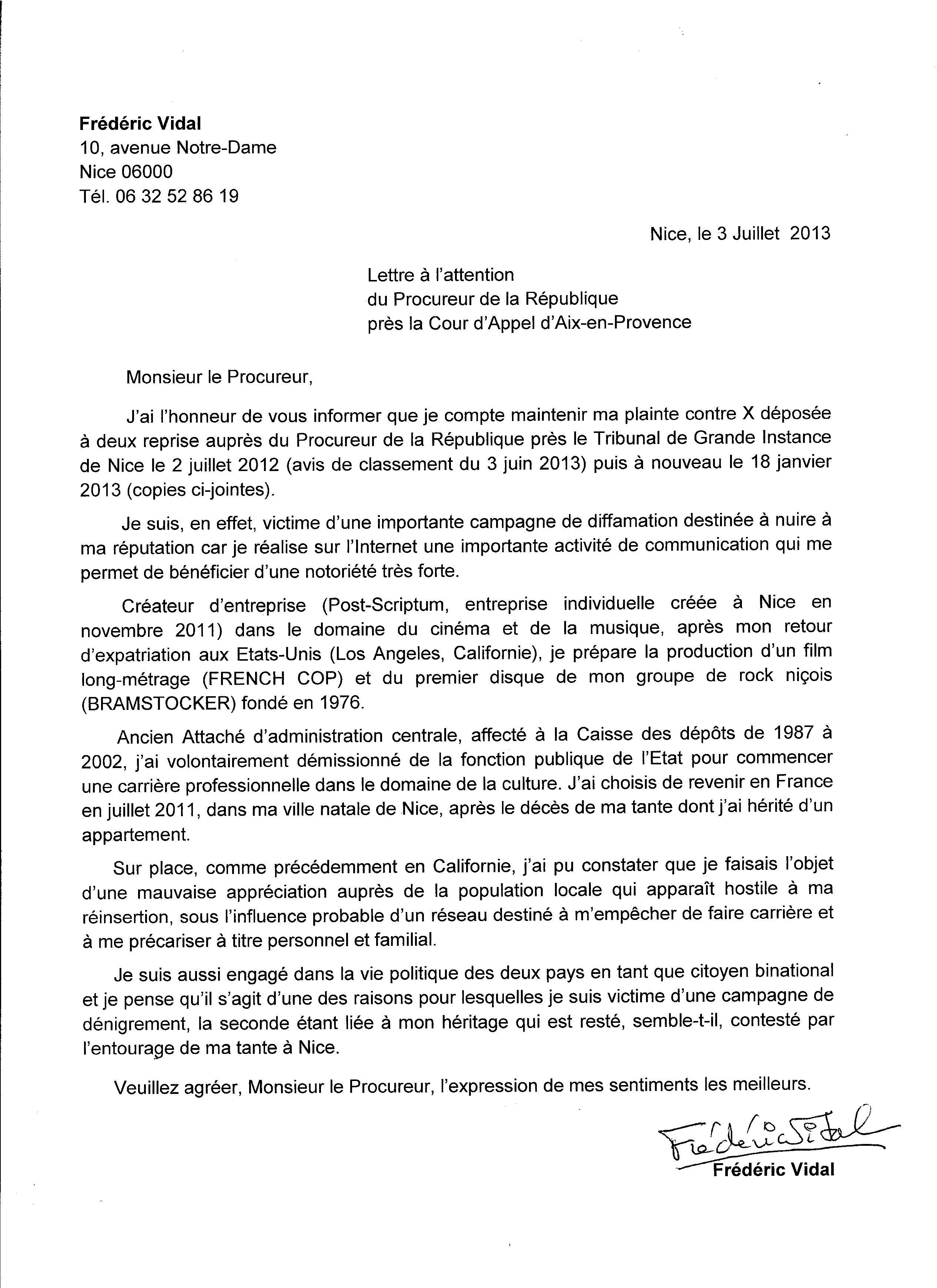 lettre de recommandation naturalisation pour un ami