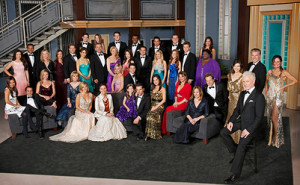 General Hospital's official 50th Anniversary cast photo. Our TIMEFRAMES LLC soap project is dedicated to them.