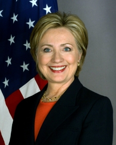 Official portrait of Secretary of State Hillary Rodham Clinton. The right candidate for the jerks who are the punks not voting for the catholic candidate.