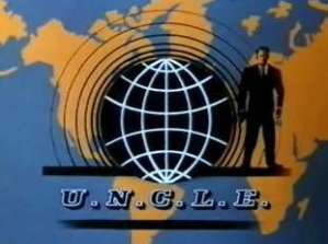 Title screen from The Man from U.N.C.L.E (TV series from the United States). This is the parent franchise of the FRENCH COP and this is the reason why we are 54.