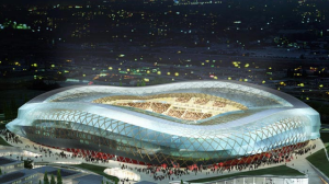 The Allianz Riviera Stadium, the Nice and huge UFO for Soccer and Rock Concerts that will support the election of a Socialist Mayor in Nice in March 2014, sponsored by Frédéric Vidal.