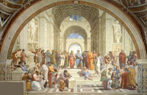 "Raphael's ""School of Athens"" (1505)."