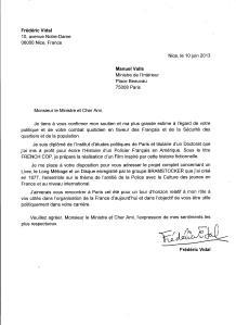 Lettre à Manuel Valls
