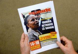 Minute n'apprécie pas Taubira mais n'a pas le droit d'être raciste. C'est un magazine d'extrême-droite qui a nuit à sa réputation.