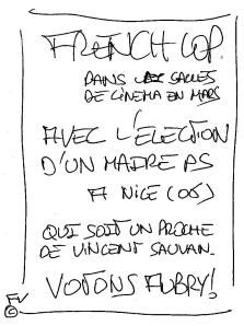 FRENCH COP FLYER