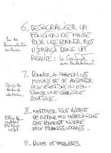 PROGRAMME ELECTORAL 2