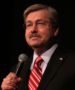 Terry Edward Branstad (born November 17, 1946) is an American politician who is the 42nd Governor of Iowa, in office since January 2011. Branstad was also the state's 39th Governor from 1983 to 1999, and he was President of Des Moines University from 2003 to 2009.
