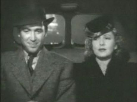 James Stewart and Jean Arthur.