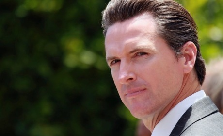 Mayor Gavin Newsom Launches San Francisco Bicycle Plan